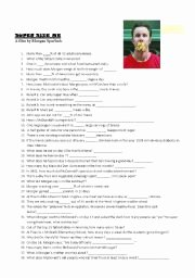 Super Size Me Worksheet Answers Beautiful English Worksheet Super Size Me Quiz