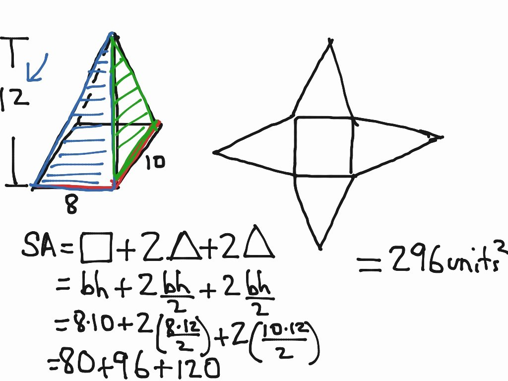 Surface area Of Pyramid Worksheet Awesome Surface area Pyramids and Cones Worksheet Answers