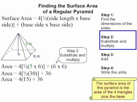 Surface area Of Pyramid Worksheet Best Of How to Find the Surface area Of A Pyramid