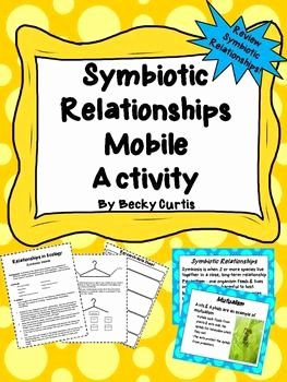 Symbiotic Relationships Worksheet Answers Best Of Symbiosis Mobile Project