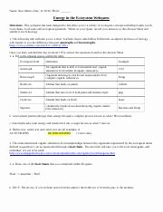 Symbiotic Relationships Worksheet Answers Fresh Symbiosis Internet Worksheet 22 organism Interaction and