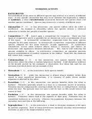 Symbiotic Relationships Worksheet Good Buddies Luxury Symbiosis Internet Worksheet organism Interaction and