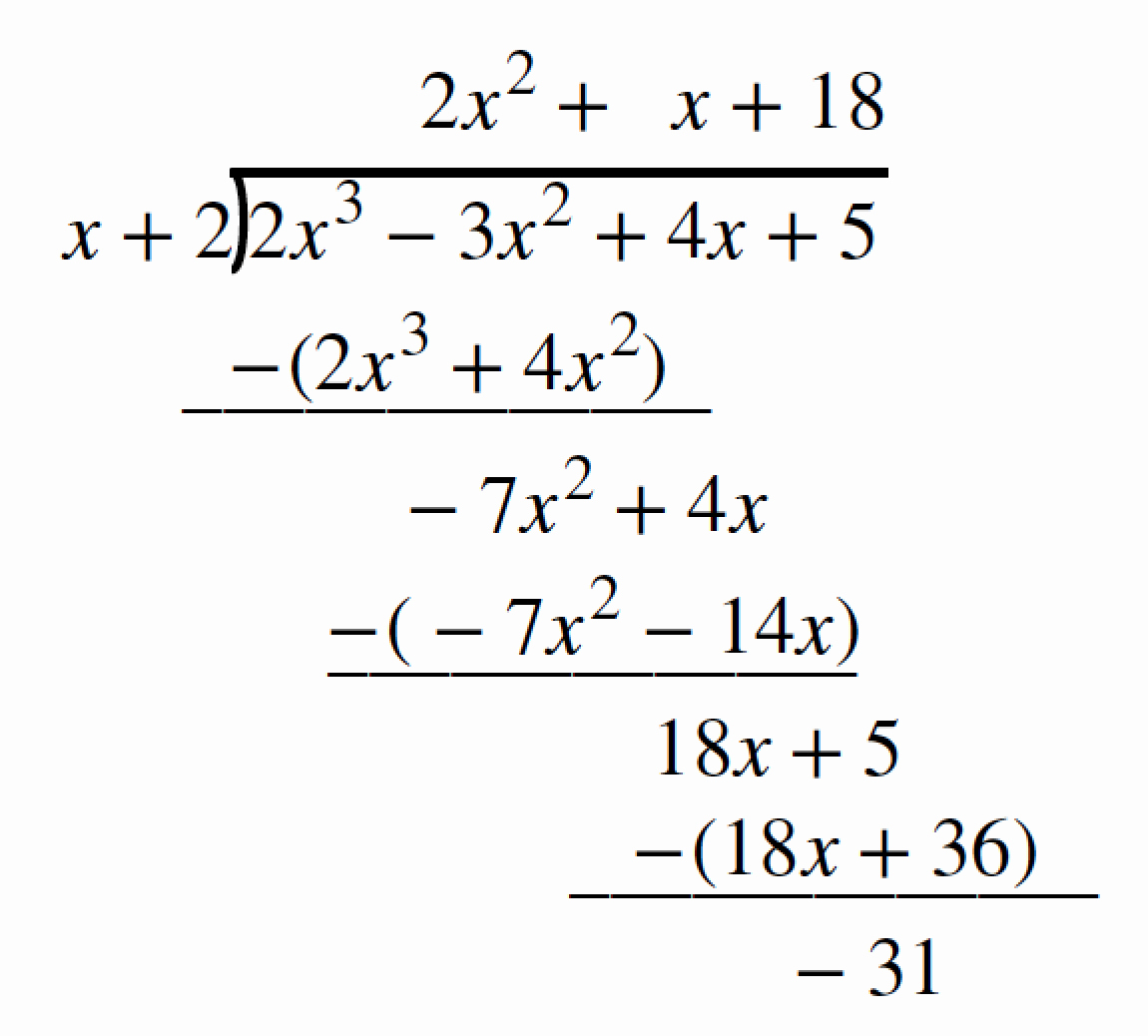 Synthetic Division Worksheet with Answers Best Of Synthetic Division