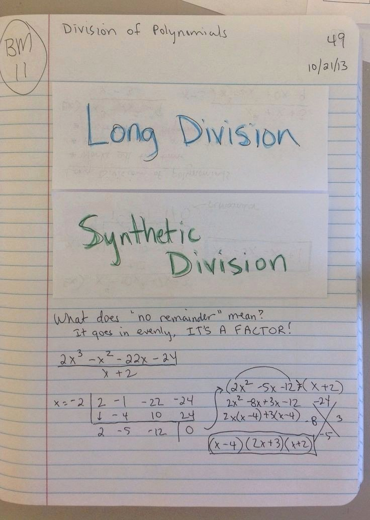 Synthetic Division Worksheet with Answers Elegant 22 Algebra 2 Synthetic Division Worksheet
