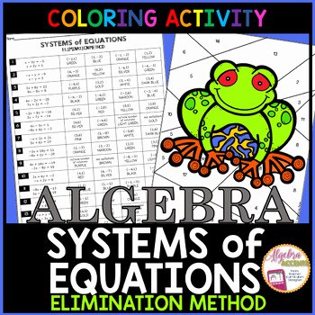 Systems Of Equations Elimination Worksheet Inspirational solving Systems Of Equations Using the Elimination Method