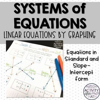 Systems Of Equations Graphing Worksheet Lovely solving Systems Of Equations by Graphing Practice