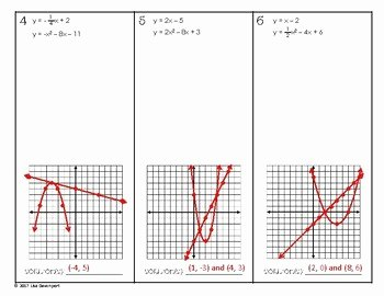 Systems Of Equations Graphing Worksheet Luxury solving Systems Of Linear & Quadratic Equations by