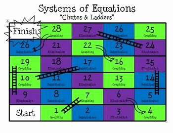 Systems Of Equations Review Worksheet Beautiful solving Systems Of Equations Review Game Chutes