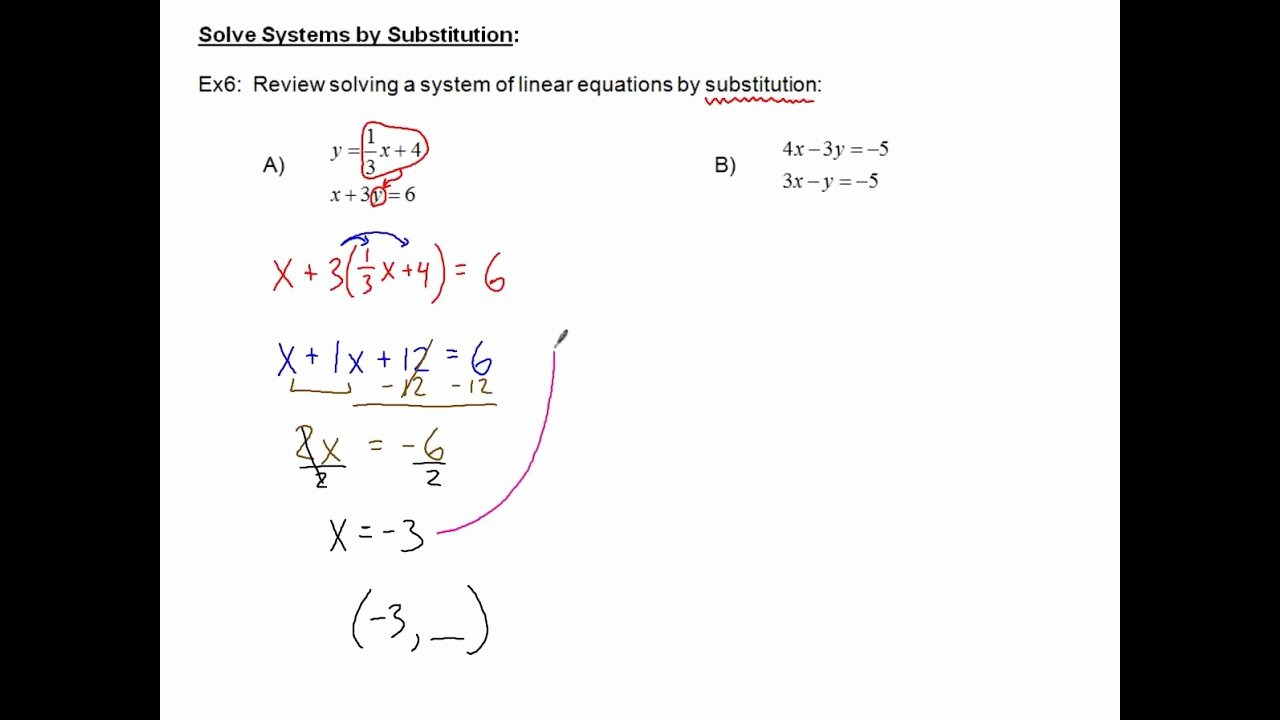 Systems Of Equations Review Worksheet Best Of Review Worksheet solving Systems Equations
