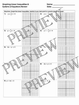 Systems Of Equations Review Worksheet Elegant Best 25 Systems Of Equations Ideas On Pinterest