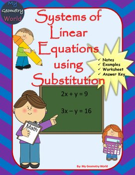 Systems Of Equations Substitution Worksheet New Algebra 1 Worksheet solving Systems Of Equations Using