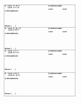 Systems Of Equations Substitution Worksheet Unique Systems Of Equations by Substitution Self Checking Riddle