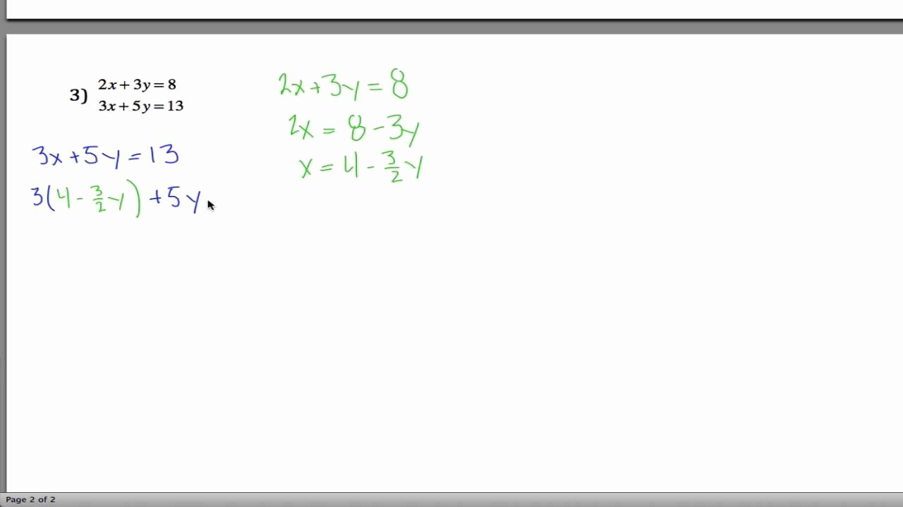 Systems Of Equations Worksheet Elegant Systems Of Linear Equations Worksheet