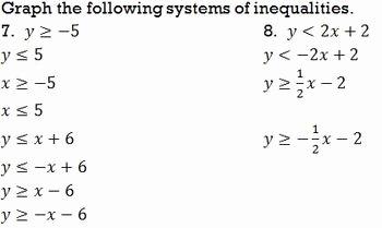 Systems Of Inequalities Worksheet Elegant Systems Of Inequalities Graphing Worksheet by Bill Bihn