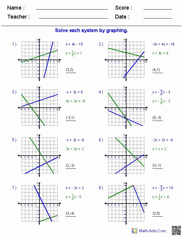 Systems Of Inequalities Worksheet Lovely Systems Inequalities Worksheet