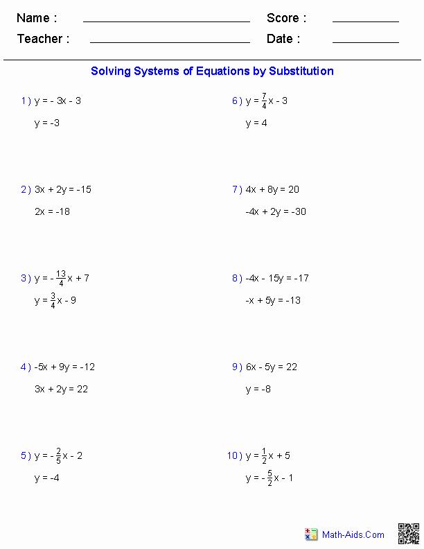 Systems Of Inequalities Worksheet Unique Algebra 2 Worksheets