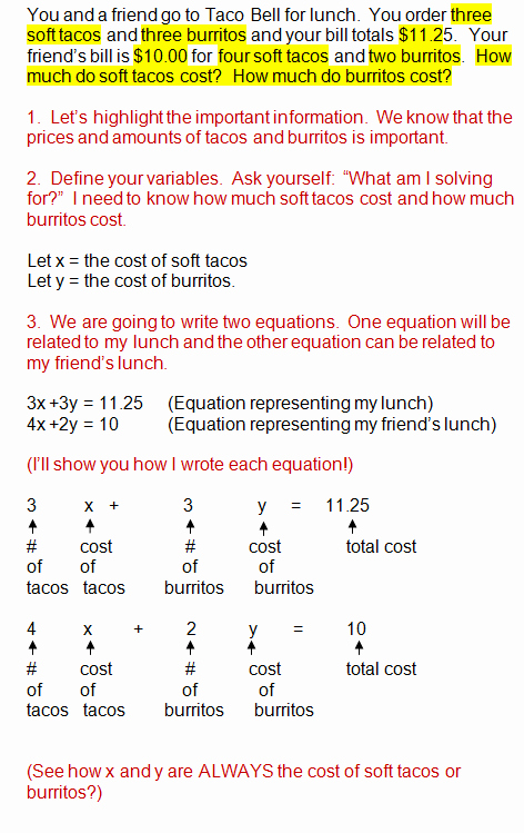 Systems Word Problems Worksheet Elegant System Of Equations Word Problems