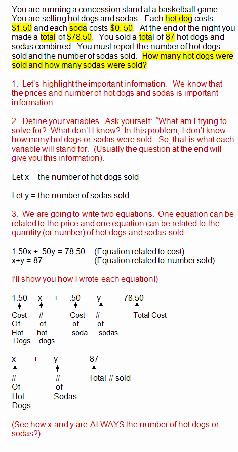Systems Word Problems Worksheet Lovely solving Systems Equations Real World Problems
