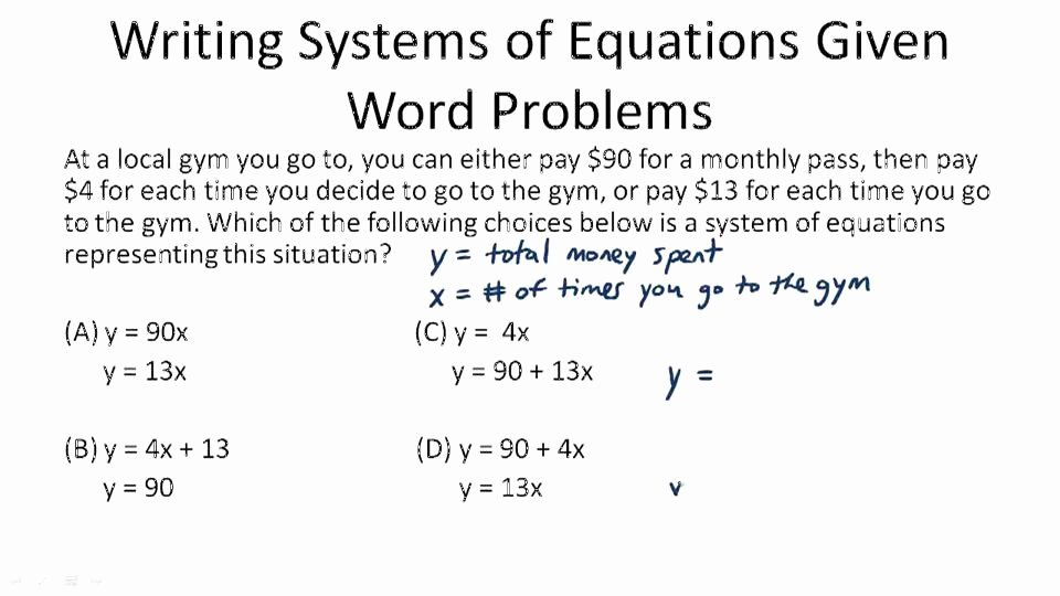 Systems Word Problems Worksheet Luxury Applications Of Linear Systems