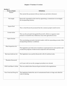 Teddy Roosevelt Square Deal Worksheet Beautiful Teddy Roosevelt S Square Deal