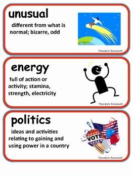 Teddy Roosevelt Square Deal Worksheet Inspirational Readygen theodore Roosevelt Vocabulary 2nd Grade Unit 3