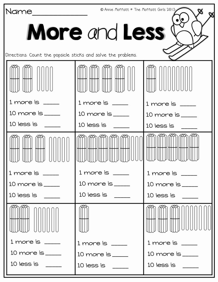 Ten More Ten Less Worksheet Awesome 15 Best Of 10 More Less Worksheets 10 More