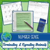 Terminating and Repeating Decimals Worksheet Awesome Terminating and Repeating Decimals Activity & Worksheets