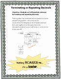 Terminating and Repeating Decimals Worksheet Beautiful Terminating and Repeating Decimals Worksheets & Teaching