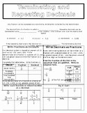 Terminating and Repeating Decimals Worksheet Unique Terminating and Repeating Decimals Worksheets & Teaching