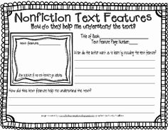 Text Features Worksheet 2nd Grade New 14 Best Of Text Features Worksheet 5th Grade