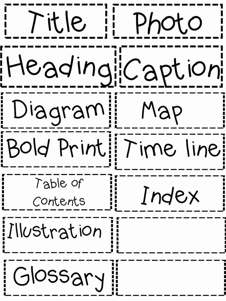 Text Features Worksheet 3rd Grade Inspirational Best 25 Text Features Worksheet Ideas On Pinterest