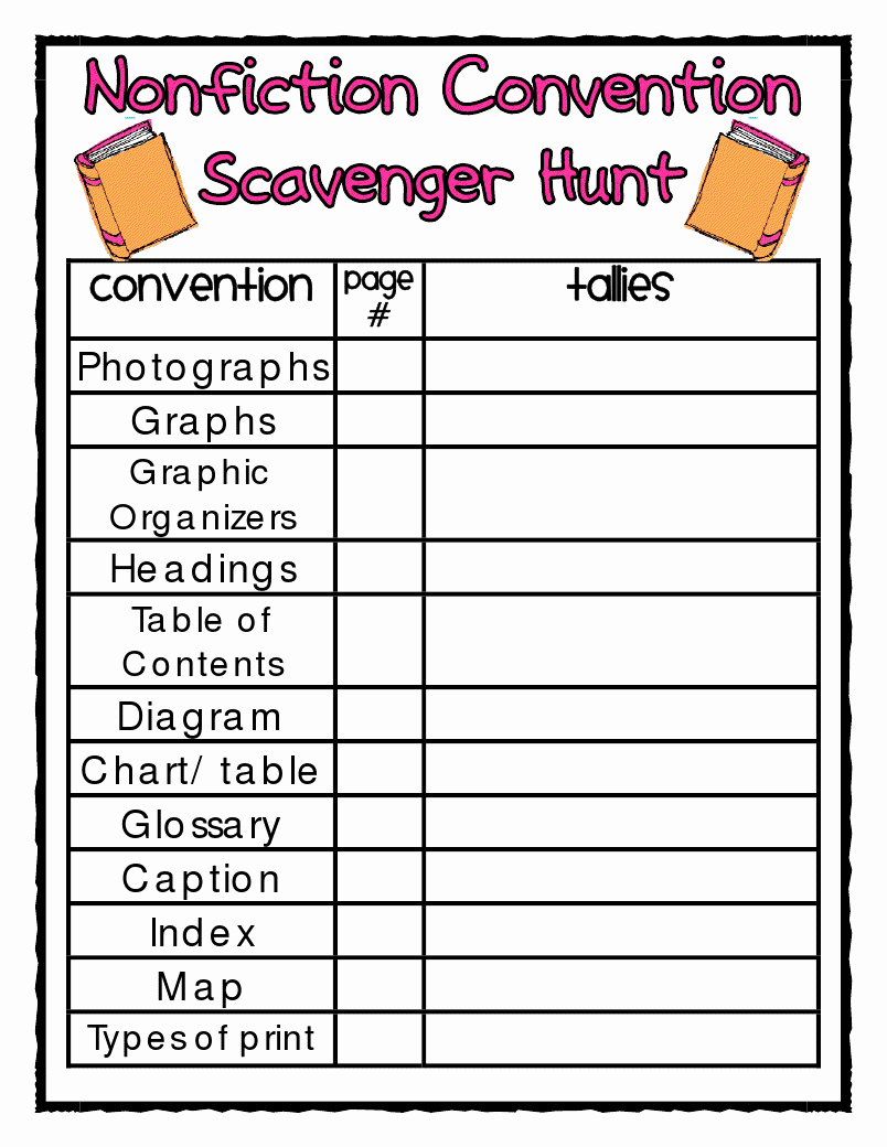 Text Features Worksheet 3rd Grade Inspirational Nonfiction Text Features Worksheet 3rd Gradenonfiction