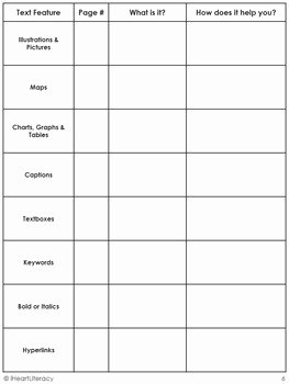 Text Features Worksheet Pdf Awesome Free Nonfiction Text Features Scavenger Hunt by