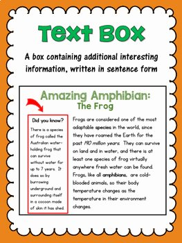 Text Features Worksheet Pdf Awesome Nonfiction Text Feature Posters and A Matching Worksheet