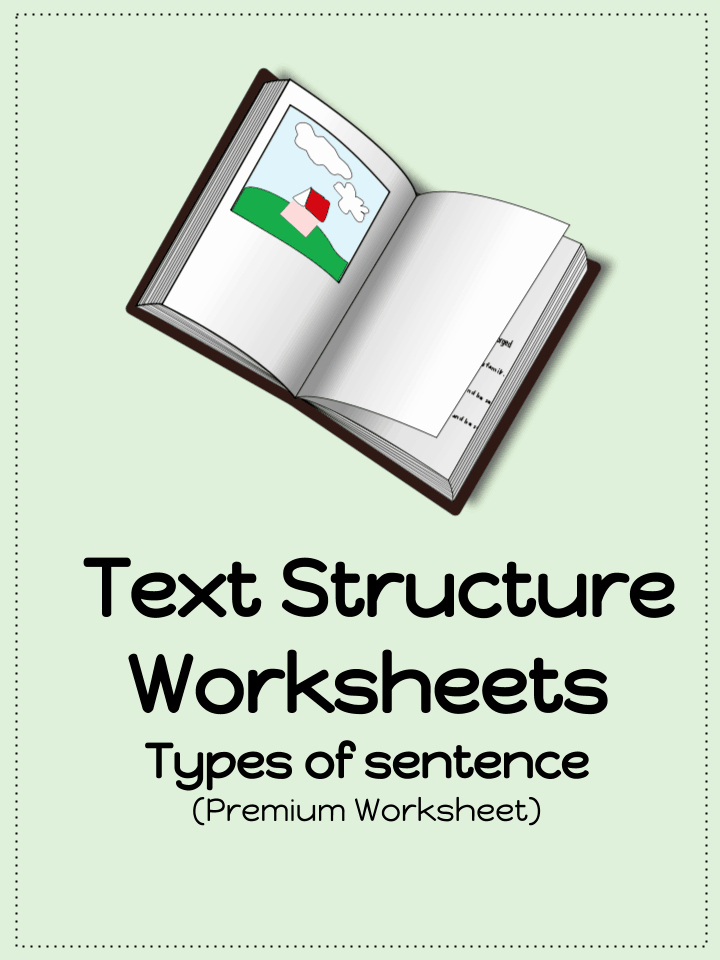 Text Structure Worksheet Pdf Beautiful Text Structure Worksheets Types Sentences Pdf