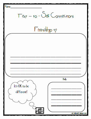 Text to Self Connections Worksheet Best Of Mrs Brinkman S Blog Spookley the Square Pumpkin