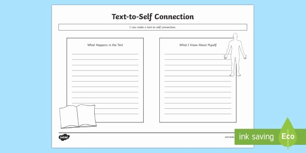 Text to Self Connections Worksheet Fresh Cfe Text to Self Connections Worksheet Worksheet Cfe