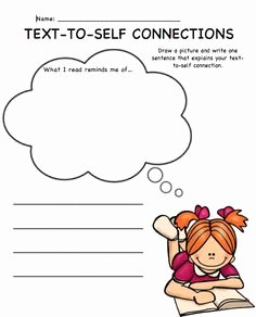 Text to Self Connections Worksheet Inspirational Great Quote Education