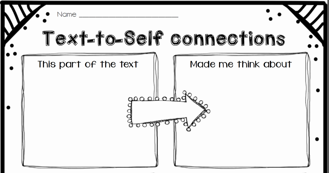 Text to Self Connections Worksheet Inspirational Making Connections while You Read Cruisin Through 4th