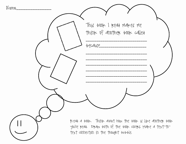 Text to Self Connections Worksheet New the Go to Teacher Reading