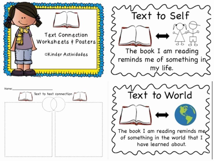 Text to Self Connections Worksheet Unique Best 25 Text Connections Ideas On Pinterest