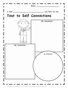 Text to Text Connections Worksheet New Text Connection Graphic organizers by Like Mother Like