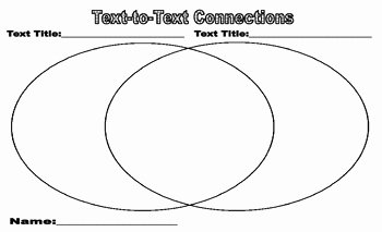 Text to Text Connections Worksheet Unique Making Text to Text Connections Worksheet by Caddi