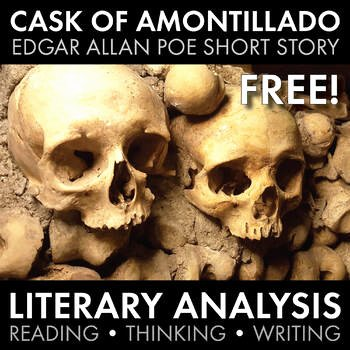 The Cask Of Amontillado Worksheet New Free Short Stories Teaching Resources & Lesson Plans