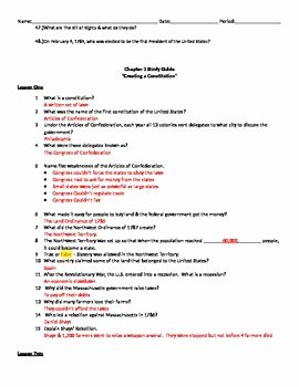 The Constitution Worksheet Answers Best Of Creating the Constitution Worksheet Answer Key