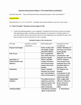 The Constitution Worksheet Answers Best Of Studylib Essys Homework Help Flashcards Research