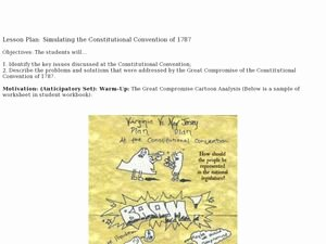 The Constitutional Convention Worksheet Beautiful Bicameral Legislature Lesson Plans & Worksheets Reviewed