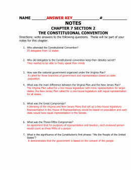 The Constitutional Convention Worksheet Best Of Promise and the Constitutional Convention