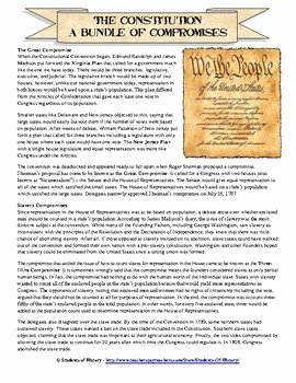 The Constitutional Convention Worksheet Elegant Promises Of the Constitutional Convention by Students