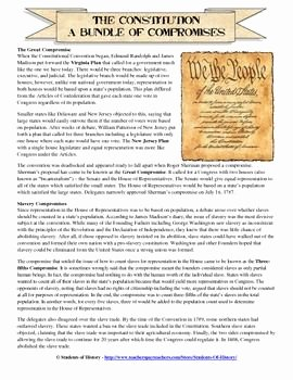 The Constitutional Convention Worksheet Luxury Promises Of the Constitutional Convention